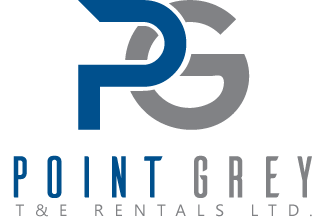 point grey event rentals logo